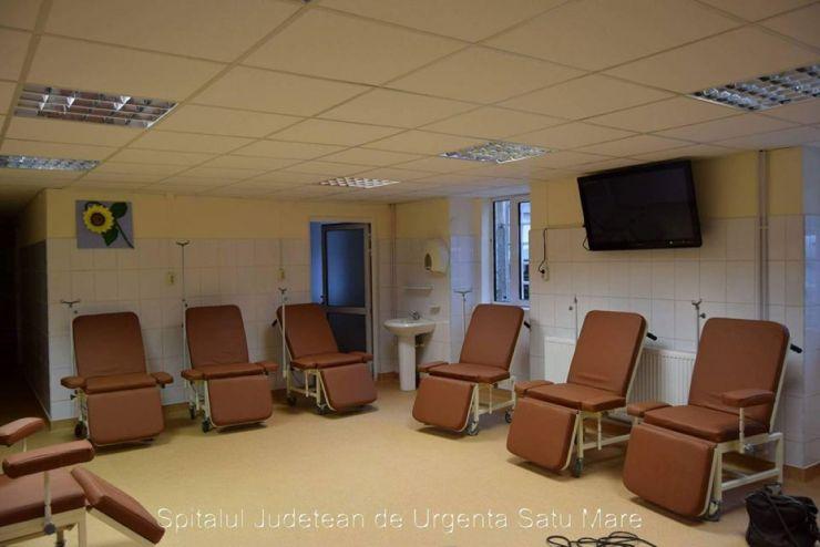 Secția de Oncologie a Spitalului Județean de Urgență Satu Mare a fost reabilitată