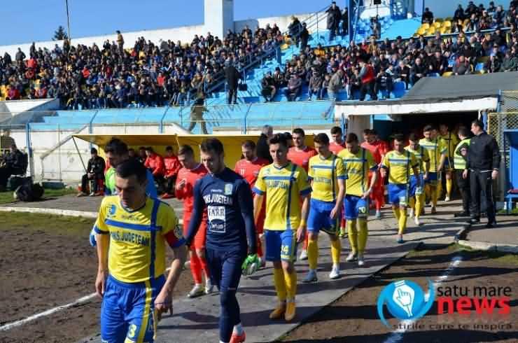 Victorie importantă pentru FC Olimpia Satu Mare