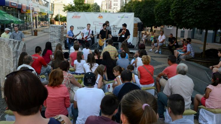 Premieră | Scenă plutitoare pe râul Someș, la Street Music Festival 2018