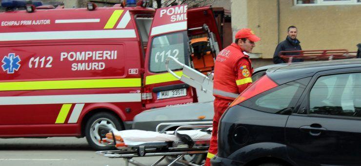Femeie rănită grav în urma unui accident produs în municipiul Satu Mare