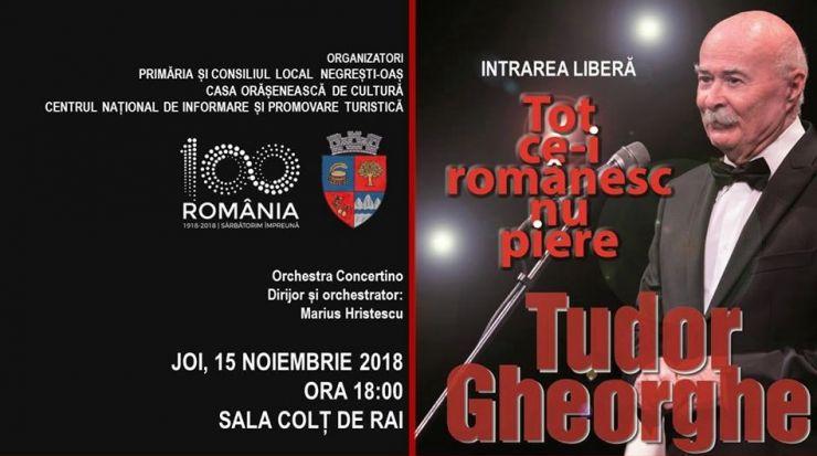 Concert Tudor Gheorghe la Negrești-Oaș!