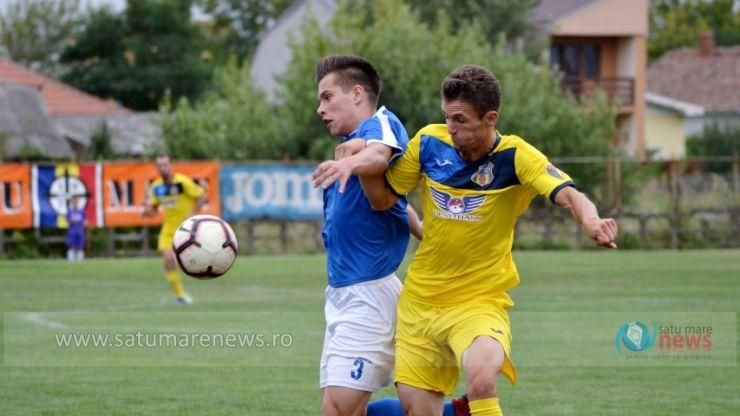 Olimpia MCMXXI Satu Mare a fost eliminată din Cupa României