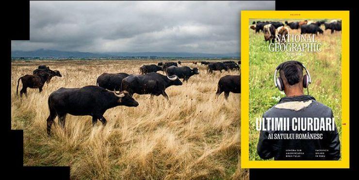 """""""Ultimii ciurdari"""", o fotografie realizată de Remus Țiplea este coperta revistei National Geographic"""