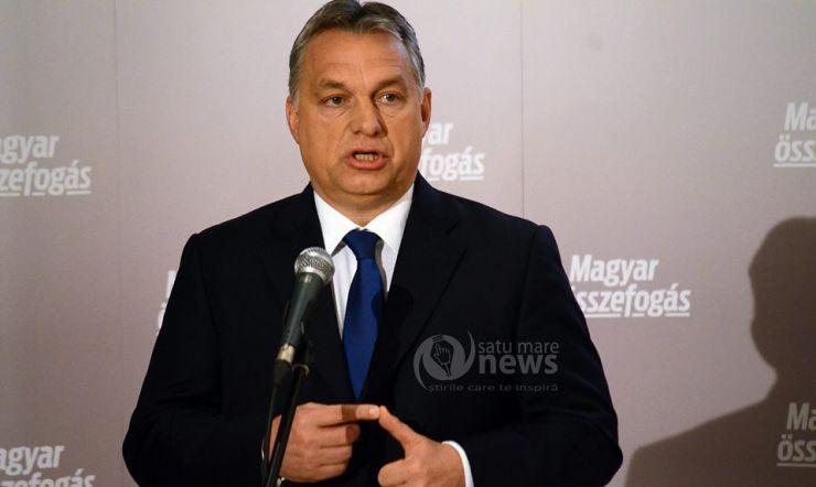 """Viktor Orban: """"În 1 Decembrie, maghiarii n-au ce celebra, așadar nu sărbătoresc"""""""