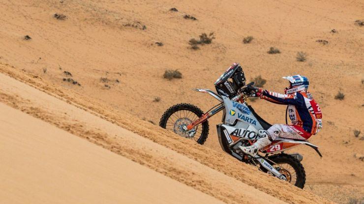 Dakar 2021 | Ziua 8 | Cea mai bună clasare din acest an pentru Mani Gyenes