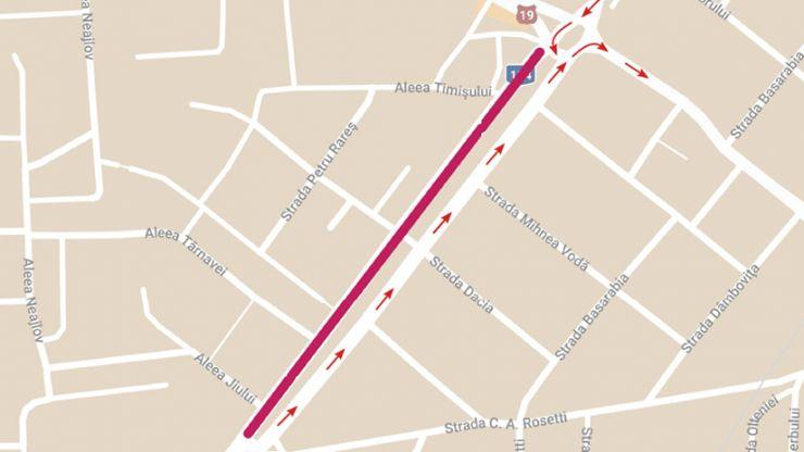Bulevardul Cloșca se închide parțial