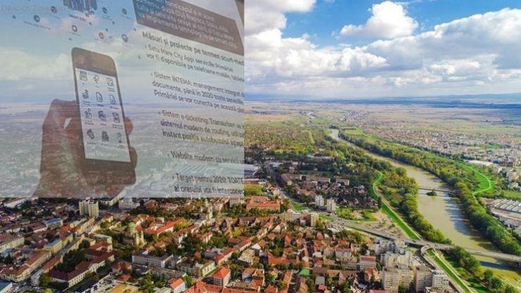 A fost lansată noua aplicație a Primăriei, Satu Mare City App