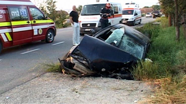 Accident rutier în Ciuperceni