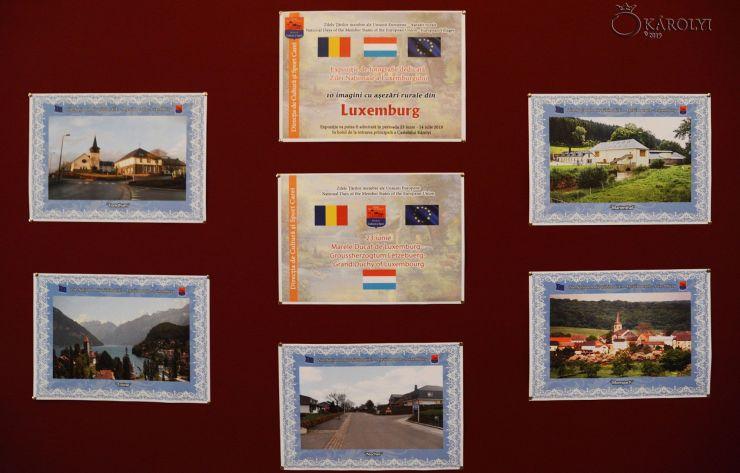 Ziua Națională a Marelui Ducat de Luxemburg, marcată la Castelul din Carei printr-o expoziție de imagini