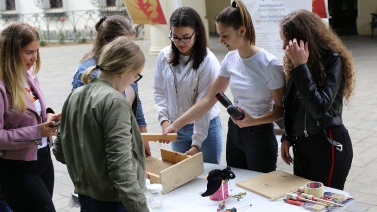 Adăposturi artificiale pentru lilieci create de echipa Asociației E-Consult Satu Mare