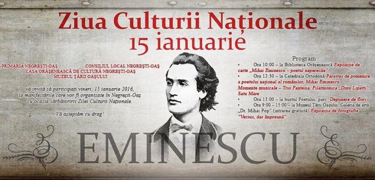 Ziua Culturii Naționale, la Satu Mare, Negrești și Ardud