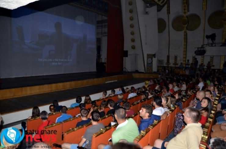 Atmosferă sufocantă în cea de-a doua seară a Caravanei Filmelor TIFF la Satu Mare