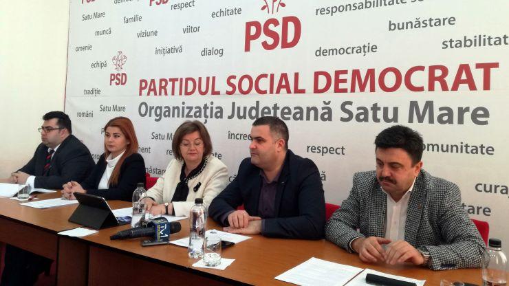 """Liderii PSD Satu Mare: """"Primăria Satu Mare, condusă de UDMR-PNL, beneficiază de cele mai mari finanțări de la Guvern de 29 de ani încoace"""""""