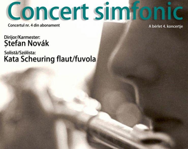 """Concertul Filarmonicii """"Dinu Lipatti"""", la Carei"""