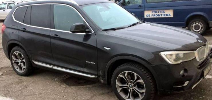 German lăsat fără un BMW X3 în Vama Petea