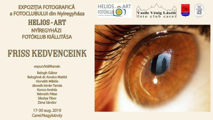 """Expoziție de fotografie a Clubului Foto """"Helios-Art"""" din Nyíregyháza, la Castelul din Carei"""