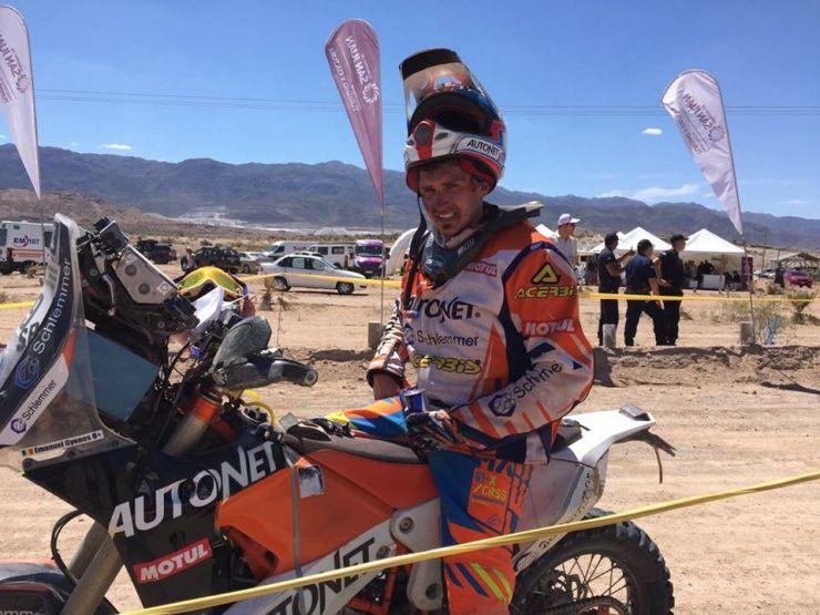 Emanuel Gyenes, locul 15 în etapa a zecea a Raliului Dakar