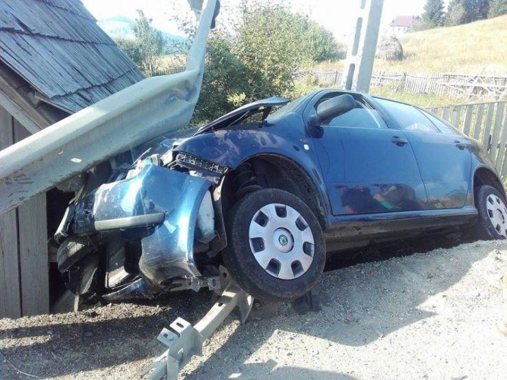 Accident rutier soldat cu o victimă, în localitatea Păulian