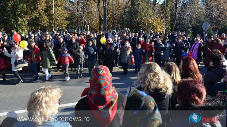 Manifestări de anvergură la Negrești-Oaș. Oșenii s-au prins în Hora Unirii