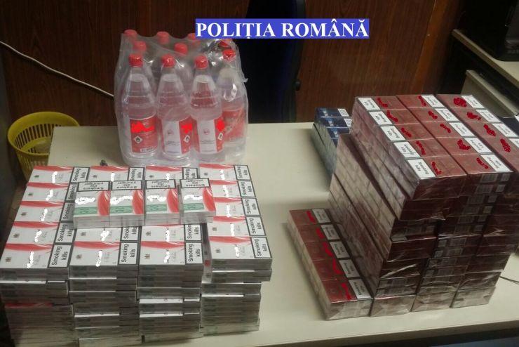 Polițiștii au prins și amendat zeci de contrabandiști