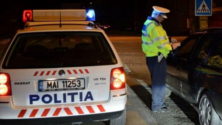 Pericol în trafic la Satu Mare | Şoferi băuţi sau fără permis, prinşi la volan de poliţişti