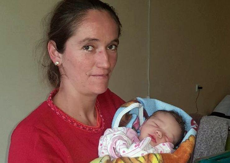 Vasile, primul copil născut la Maternitatea Satu Mare în 2018