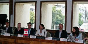 Delegaţie canadiană, în vizită la Instituția Prefectului