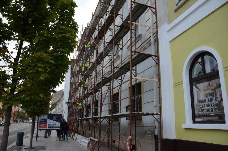Au început lucrările de renovare a Palatului Reduta ce găzduiește Muzeul Etnografic al Transilvaniei