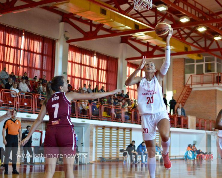 Baschet | Victorie pentru CSM Satu Mare în primul meci oficial al sezonului