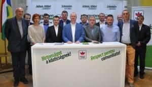 Candidatul UDMR la Primăria Satu Mare, Gabor Kereskenyi, și-a prezentat echipa și oferta electorală