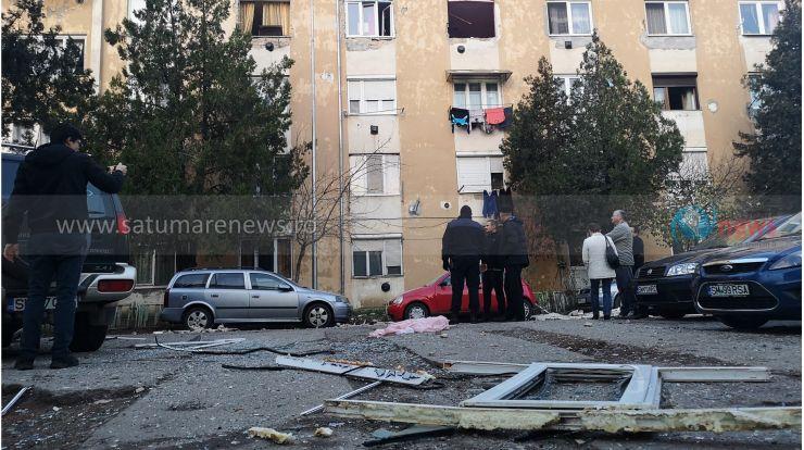 Primăria Satu Mare reface instalația de gaz în blocul de pe Cloșca, afectat de explozie