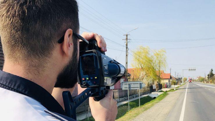 Tânăr (22 ani) din Turț prins gonind cu 145 km/h