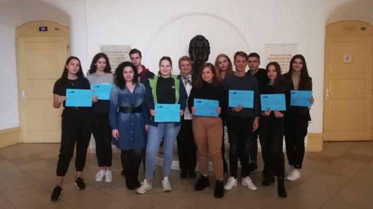 Eminescieni prezenți la Sesiunea Regională de Selecție Toamnă 2019 a Parlamentului European al Tinerilor