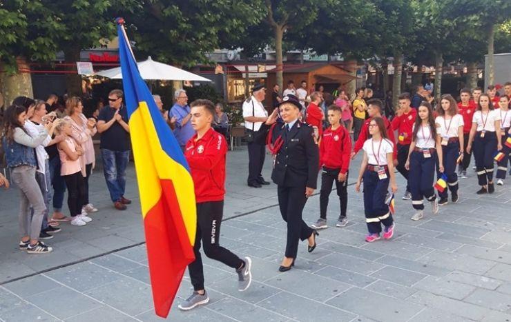 Echipa de fete din Satu Mare a reprezentat cu cinste România în Elveția