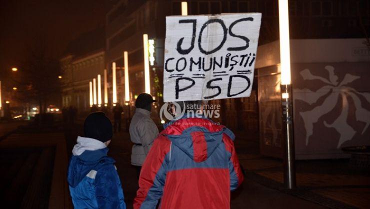 Un nou protest la Satu Mare, duminică, 19 februarie!