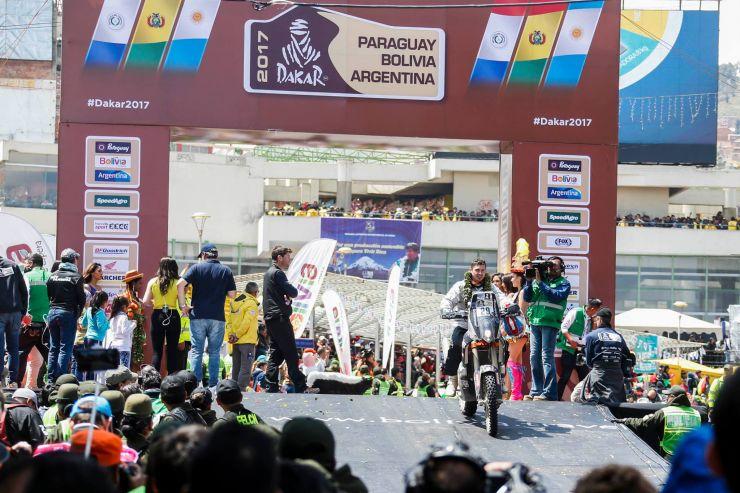 Dakar 2017 | Mani Gyenes a fost penalizat și retrogradat