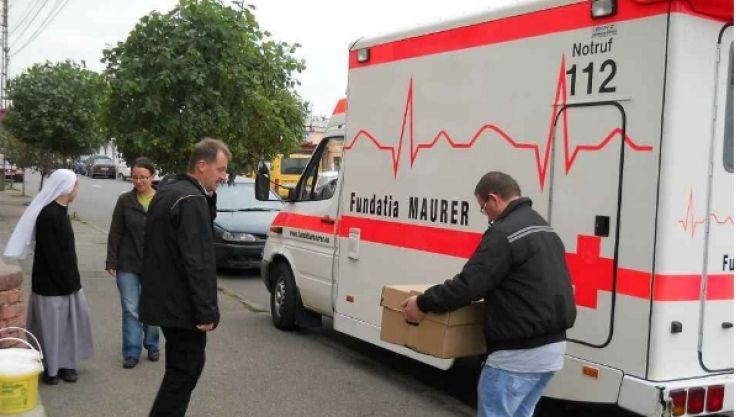 Fundația Maurer are nevoie de o nouă ambulanță