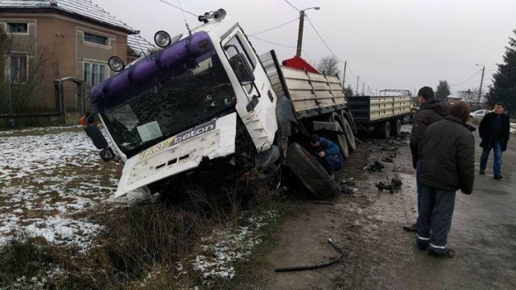 Accident mortal lângă Mădăras
