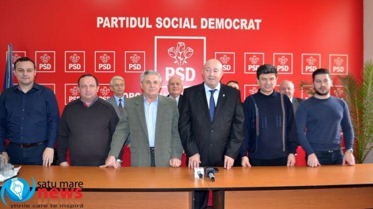 PSD Satu Mare a validat candidații pentru primăriile Botiz, Cămărzana, Santău, Săcășeni și Vetiș