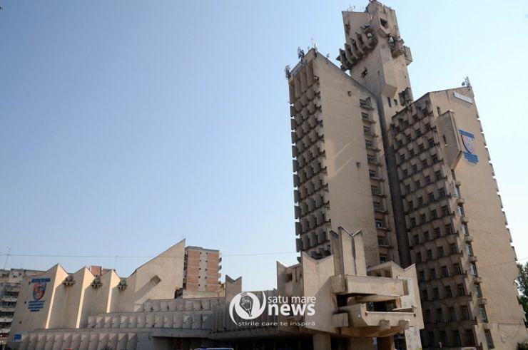 Palatul Administrativ nu are autorizaţie de la ISU