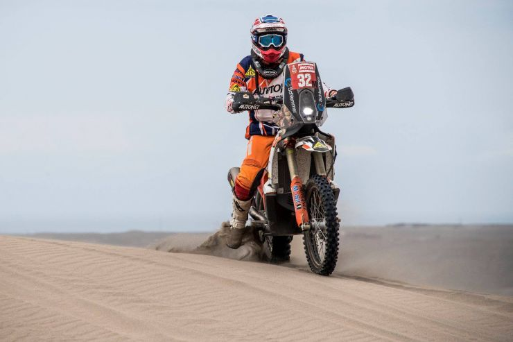 Dakar 2019 | Mani Gyenes a încheiat etapa 7 pe locul 50