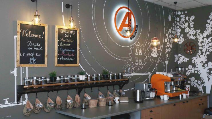FOTO | Autonet a deschis cea mai cool cafenea din oraș