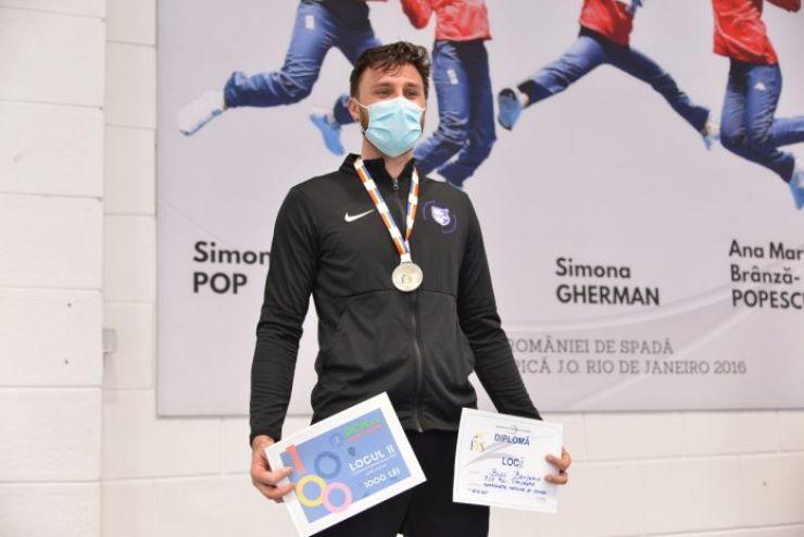 Scrimă | Benjamin Bodo, vicecampion național la spadă