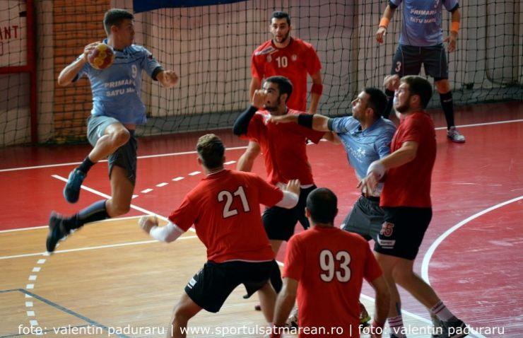 Handbal. CSM Satu Mare a câștigat în deplasare la Sebeș