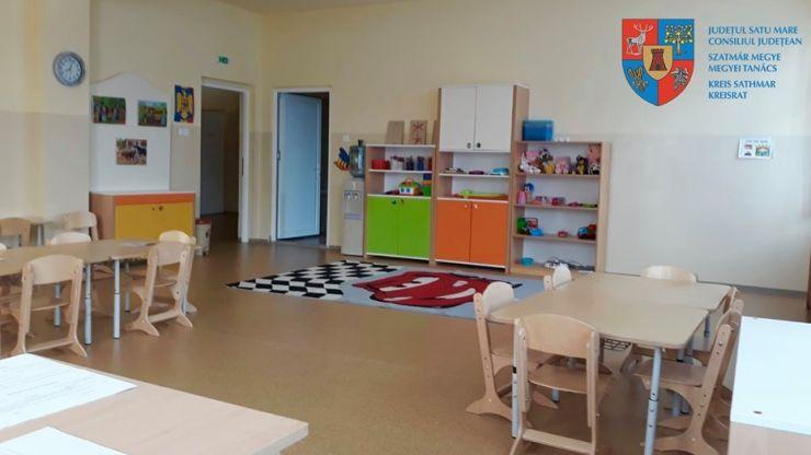 Grupă specială pentru copiii cu autism, în Negrești-Oaș