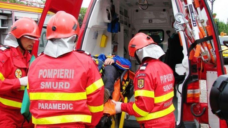 Accident pe DN19A, soldat cu rănirea a două persoane