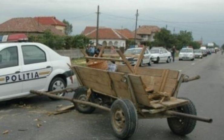 Căruțași în stare gravă după ce au fost implicați în accidente rutiere
