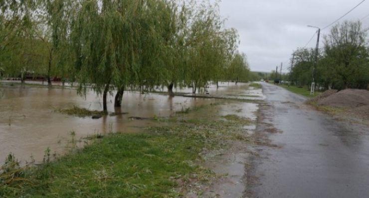 Cod portocaliu de inundații pe râul Tur