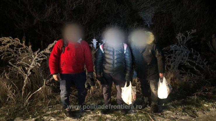 Patru cetăţeni din Algeria şi unul din Libia, opriți de poliţiştii de frontieră în Satu Mare