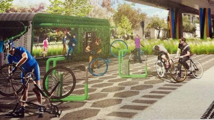 Primăria construiește un pasaj suprateran pentru pietoni și bicicliști